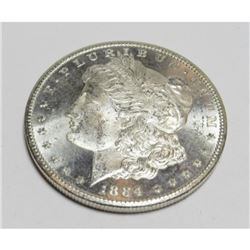 1884 BU CC KEY DATE Morgan Dollar