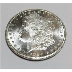 1884 CC CH BU PL  Key Date Morgan Dollar