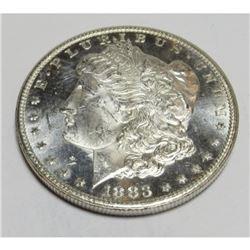 1883 CC CH BU PL Morgan Dollar KEY Date