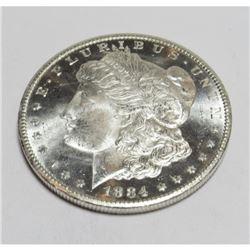 1884 CC CH BU PL Morgan Dollar Key Date