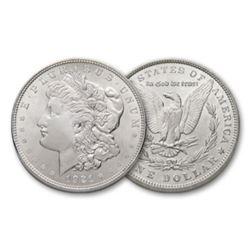 1921 P BU Morgan Silver dollars