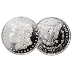 1 oz. Silver Morgan Design - .999 Pure
