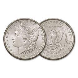 1885 P BU Morgan Silver Dollar