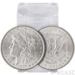 (20) 1887 P BU Morgan Silver Dollars