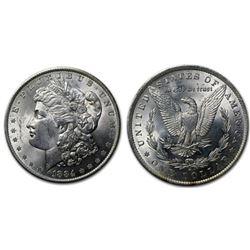 1884 O BU Morgan Silver Dollar