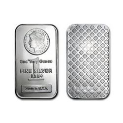 1 oz Morgan Design Silber Bar .999 Pure