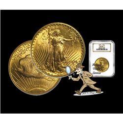 1928 MS 63 NGC $20 Gold Saint Gaudens