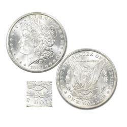 1881 Carson City KEY DATE Morgan Dollar AU/BU