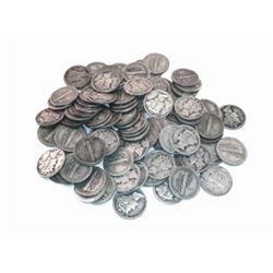 Lot of (100) Buffalo / Indian Head Nickels