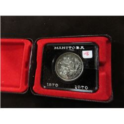 1970 MANITOBA PROOF CASED CANADA DOLLAR