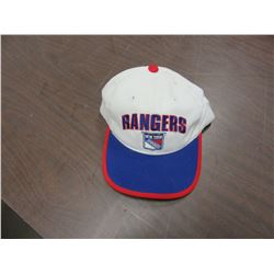 "NEW - ""NEW YORK RANGERS"" WHITE HAT"