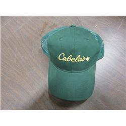 "NEW - ""CABELAS"" GREEN HAT"