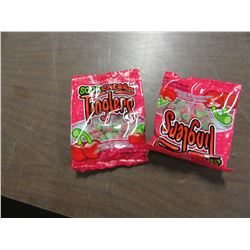 SOUR TINGLERS CANDY - 2 PACKAGES