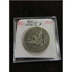 1907 USA SILVER HALF DOLLAR