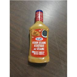 KRAFT ASIAN SESAME DRESSING - PER BOTTLE