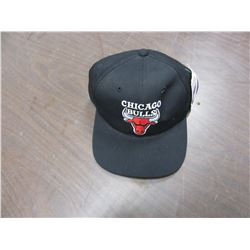 "NEW - ""CHICAGO BULLS"" BLACK HAT"