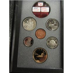 1989 PROOF CASED CAMEO CANADA MINT COIN SET
