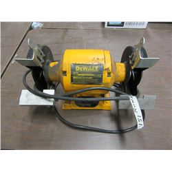 ESTATE - DEWALT DW756 BENCH GRINDER