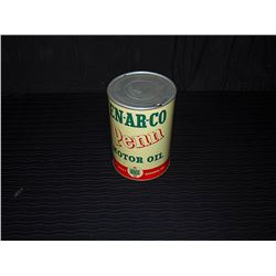 En-Ar-Co Penn Motor Oil Tin
