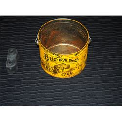 Buffalo Solid Oil Tin