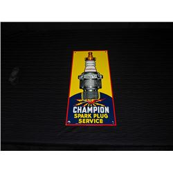 Champion Spark Plug Porcelain Fantasy Sign