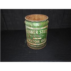 Quaker State North Star 5 Gallon Pail, No Lid
