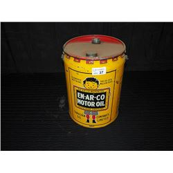 En-Ar-Co Slate Boy 5 Imperial Gallon Pail with Lid