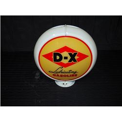D-X Boron Gasoline Double Sided Pump Globe