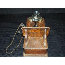 Original Wooden Wall Phone