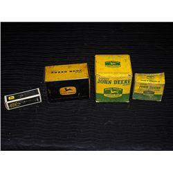 (4) Vintage John Deere Part Boxes