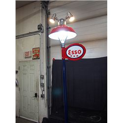 Restored & Working Esso Service Station Light