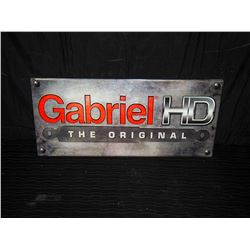 Gabriel HD Embossed Tin Single Sided Sign