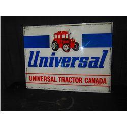 Plastic Universal Tractor Sign