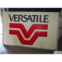Very Large Versatile Plastic Sign