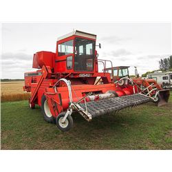 White 5542 SP Combine, Serial#:8146337NP