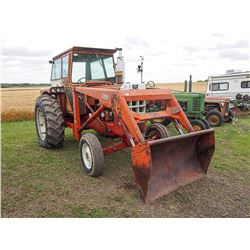 1968 Cockshutt 1750 w/ Dual Loader, Serial#: 203376427