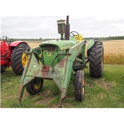 1963 John Deere 4010 w/ loader, no bucket Serial#:401022T41130
