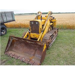 1961 John Deere 1010 Crawler w/Loader Serial#: 19858