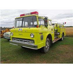 1976 Ford 900 Superior Pumper TruckSerial#: C90LVX29202