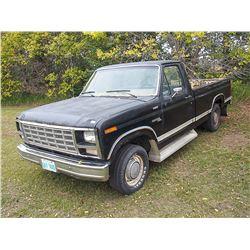 1980 Ford F100 Custom Serial#: F10ECJJ8136
