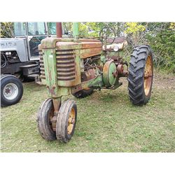 1949 John Deere G Row Crop Serial#: 35169 - Running and driving