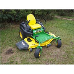 2014 John Deere Z665 Zero Turn Mower, Serial: 1M0Z665XTEM151076