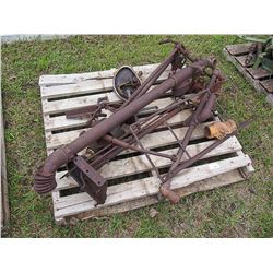 1912 IH Autobuggy Parts on Pallet