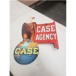 Case Double Sided Metal Flange Fantasy Sign