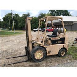 White 5,000lb Forklift