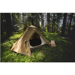 Alaska Tent and Tarp - Arctic Oven - Jim Shockey Tent