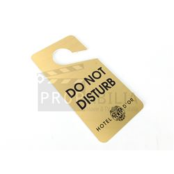 Once Upon a Time - Hotel D'Or Do Not Disturb Sign (0309)