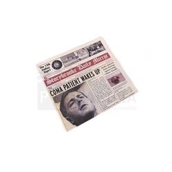 Once Upon a Time - Storybrooke Newspaper 'Coma Patient Wakes Up' (3203)