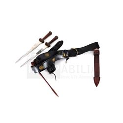 Once Upon a Time - Prince Leopold's Duel Daggers and Belt (0387)