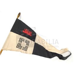 Once Upon a Time - Evil Queen Snow White's Banner Flag on Pole (4973)